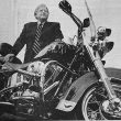 Born to Ride – McKelroy equally comfortable on back of his Harley Davidson as behind his bank desk