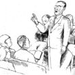 Singing in Sacred Harp on a Sunday afternoon